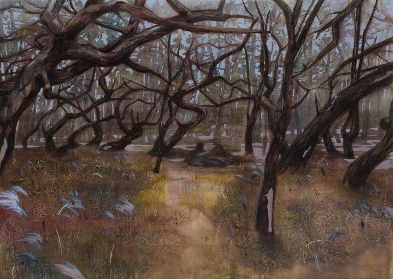 Niji, oil on canvas, 162x227cm, 2018.jpg