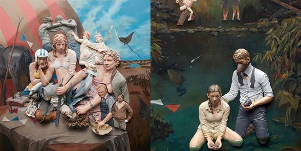 Crow's ordeal,140x140(cm),acrylic on resin on wooden board,2015-tile.jpg